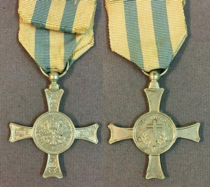 États Pontificaux - Médaille Fidei et Virtuti...