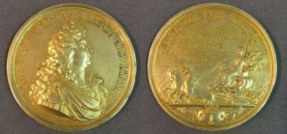 Grande médaille de la Ligue maritime française...