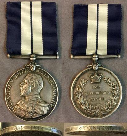 Royaume-Uni - Médaille des Services Distingués...