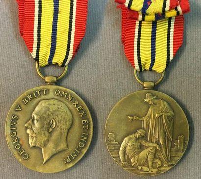 Royaume-Uni - Médaille pour les Sujets Alliés,...