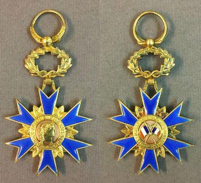 Ordre National du Mérite, fondé en 1963,...