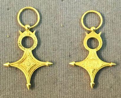 Ordre du Mérite Saharien, fondé en 1958,...