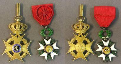 Belgique - Ordre de Léopold II, fondé en...