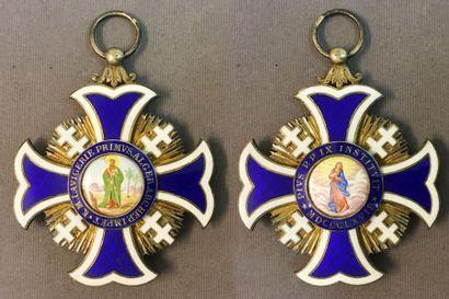 Croix du chapitre de la cathédrale d'Alger,...