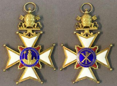 Croix du chapitre de la cathédrale de Constantine,...