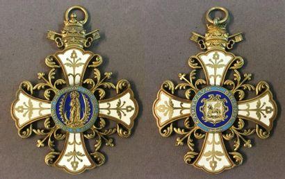 Croix du chapitre de la cathédrale de Digne,...