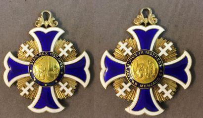Croix du chapitre de la cathédrale de Nancy,...