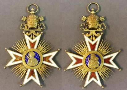 Croix du chapitre de la cathédrale de Viviers,...