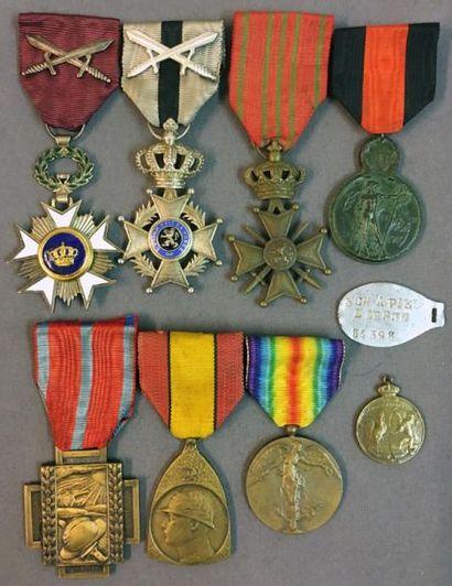 Belgique - Première guerre mondiale, groupe...