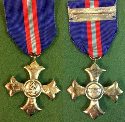Brésil - Médaille Navale des Services Distingués,...
