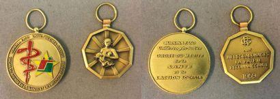 Burkina Faso - Ordre de la Santé et de l'Action Sociale, fondé en 2006, insigne...