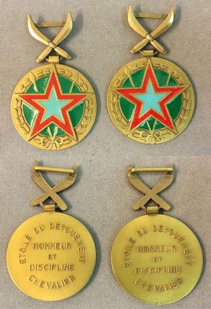 Djibouti - Ordre de l'Étoile du Dévouement,...