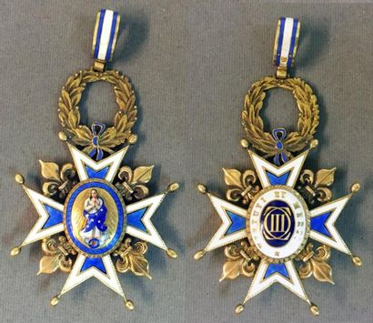 Espagne - Ordre de Charles III, fondé en...