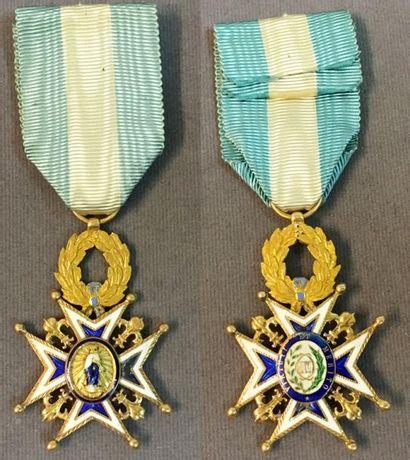 Espagne - Ordre de Charles III, croix de...