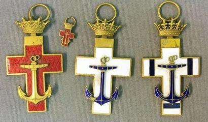 Espagne - Ordre du Mérite Naval, fondé en...
