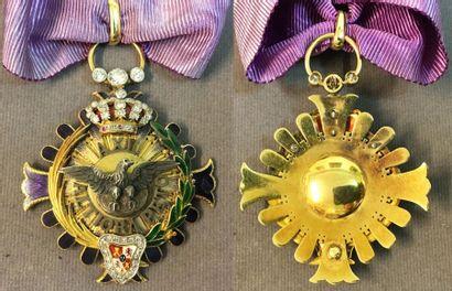 Espagne - Ordre d'Alphonse XII, fondé en...