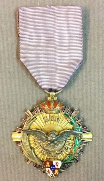 Espagne - Ordre d'Alphonse XII, croix de...