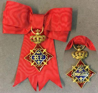 Espagne - Ordre des Dames de Sa Majesté la...