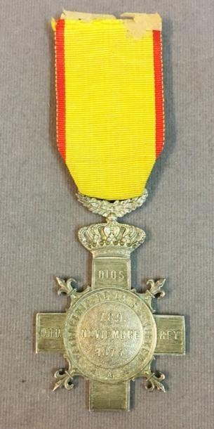 Espagne - Carlisme, médaille de la bataille...