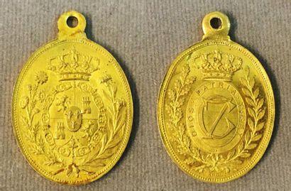Espagne - Carlisme, médaille des partisans...