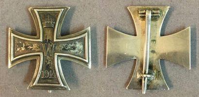 Allemagne, royaume de Prusse - Croix de Fer, créée en 1813, croix de Ire classe...
