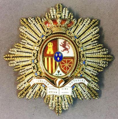 Espagne - Notaire public, spectaculaire plaque...