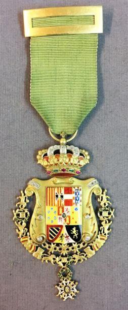 Espagne - Médaille d'or de la ville de La...