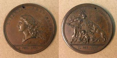 États-Unis d'Amérique (USA) - Médaille «Libertas...