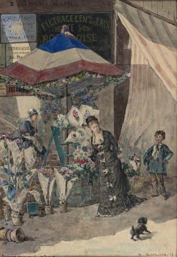 Marie Désirée BOURGOIN (1839-1912)