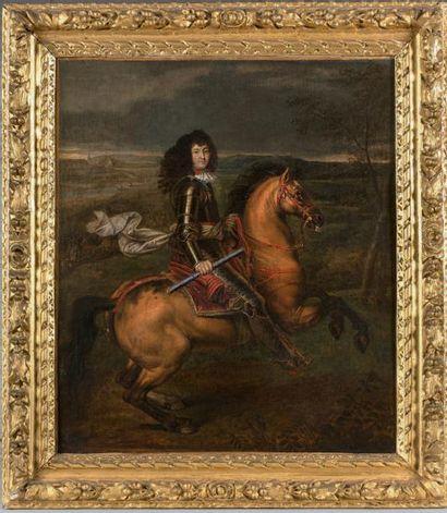 ÉCOLE FRANÇAISE du XVIIe siècle, entourage de Paul MIGNARD (1638-1691)