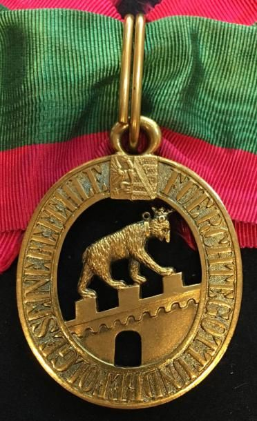 Duché d'Anhalt - Ordre d'Albert l'Ours, fondé...