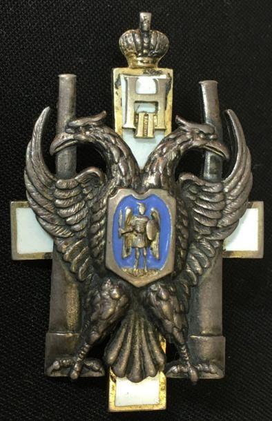 Insigne de l'école d'artillerie Nikholaevsky...