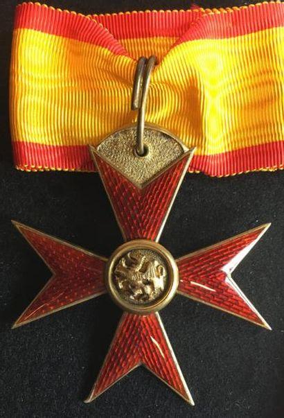 Grand-duché de Mecklembourg-Schwerin - Ordre...