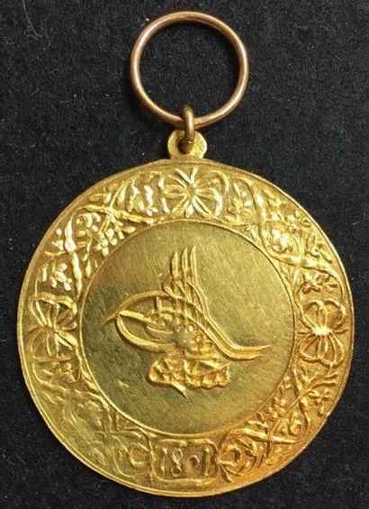 Médaille du Sultan pour l'Égypte, 1801, 4e...
