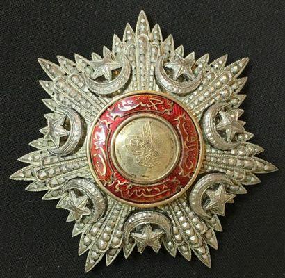Ordre du Medjidié, plaque de 2e classe, en...