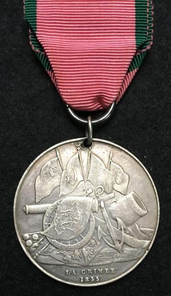 Médaille de Crimée pour les troupes françaises...