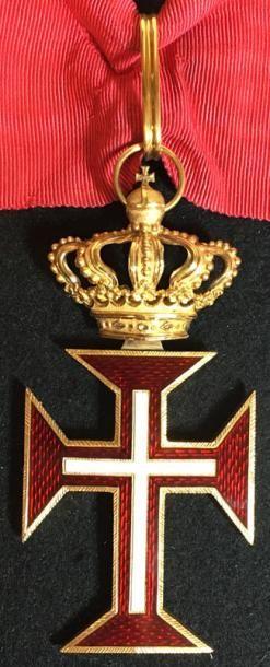 Ordre du Christ, fondé en 1319, bijou de...