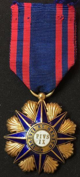 Ordre de Pie IX, fondé en 1847, bijou de...