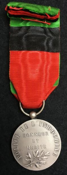 Médaille de la Police de l'Indochine, créée...