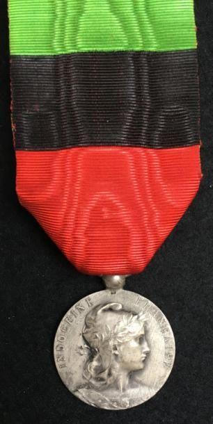 Médaille de la Police de l'Indochine, en...