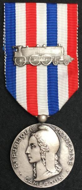 Médaille d'honneur des chemins de fer pour...