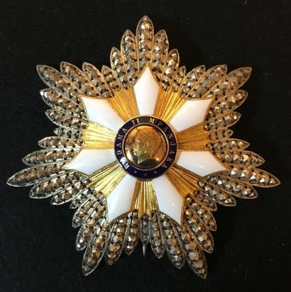 Ordre du Mérite de Radama II, fondé en 1861,...
