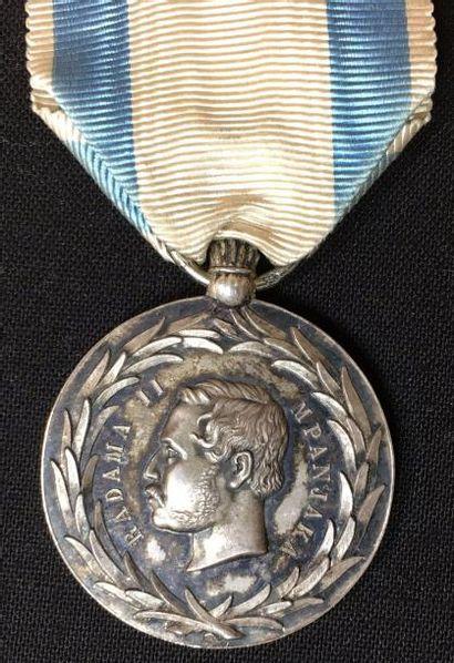 Médaille de Radama II, créée en 1862, deuxième...