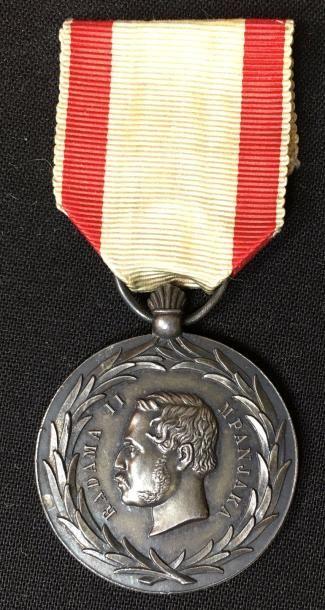 Médaille de Radama II du 2e type en métal...