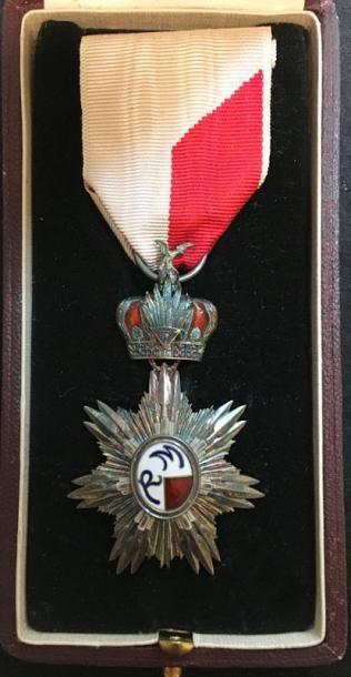 Ordre de Ranavalo, bijou de chevalier en...