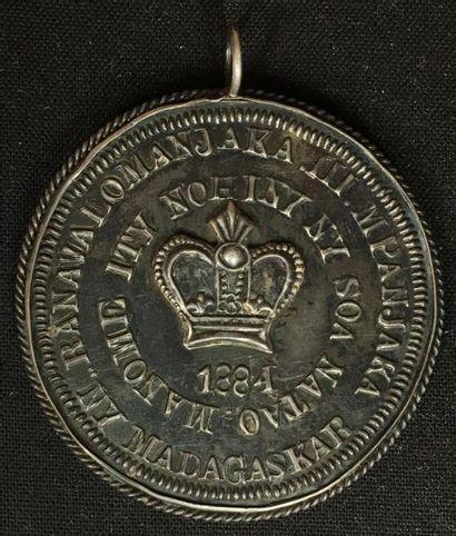 Médaille de Récompense de Ranavalona III...