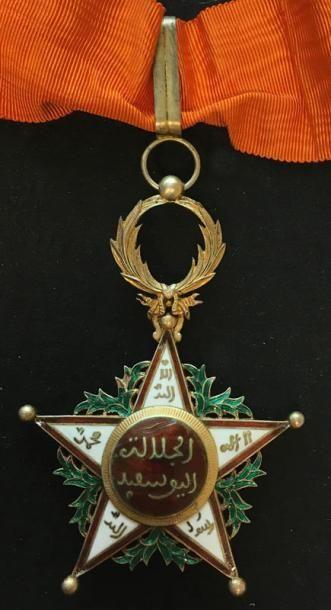 Ordre du Ouissam Alaouite Cherifien, fondé...