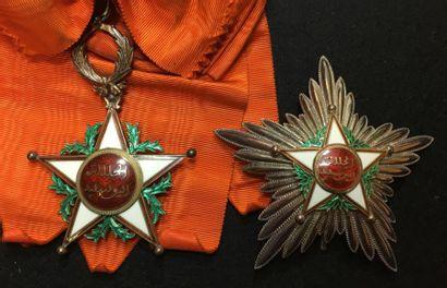 Ordre du Ouissam Alaouite Cherifien, ensemble...