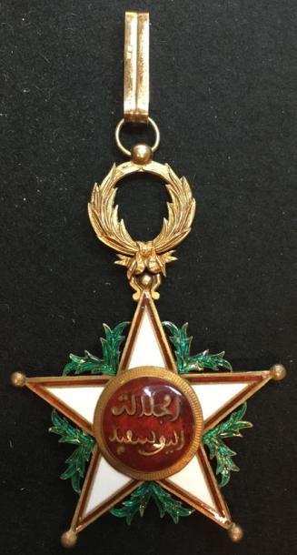 Ordre du Ouissam Alaouite Cherifien, bijou...