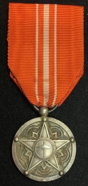Médaille de Satisfaction (Dahir), créée en...